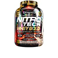 Deals on MuscleTech Nitro-Tech Whey Gold Protein Powder 5.5 lbs