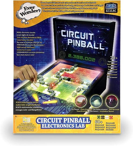 Amazon.com: Uncle Milton – Circuito Pinball Electronics Lab ...