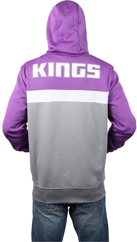 Ultra Game NBA Men/'s Full Zip Soft Fleece Sweatshirt Hoodie Jacket