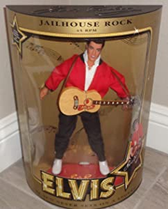 The Sun Never Sets on a Legend 1993 Elvis Doll, Jailhouse Rock Doll Hasbro 12...