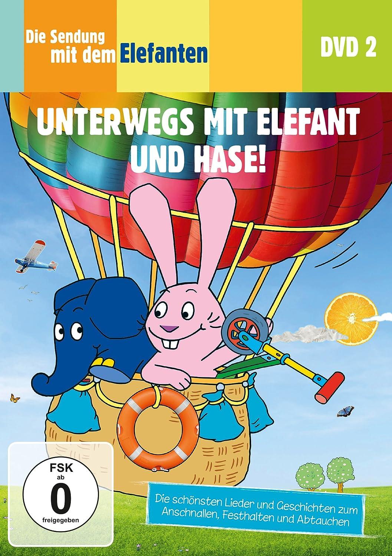 Die Sendung mit dem Elefanten DVD 2  Unterwegs mit Elefant und