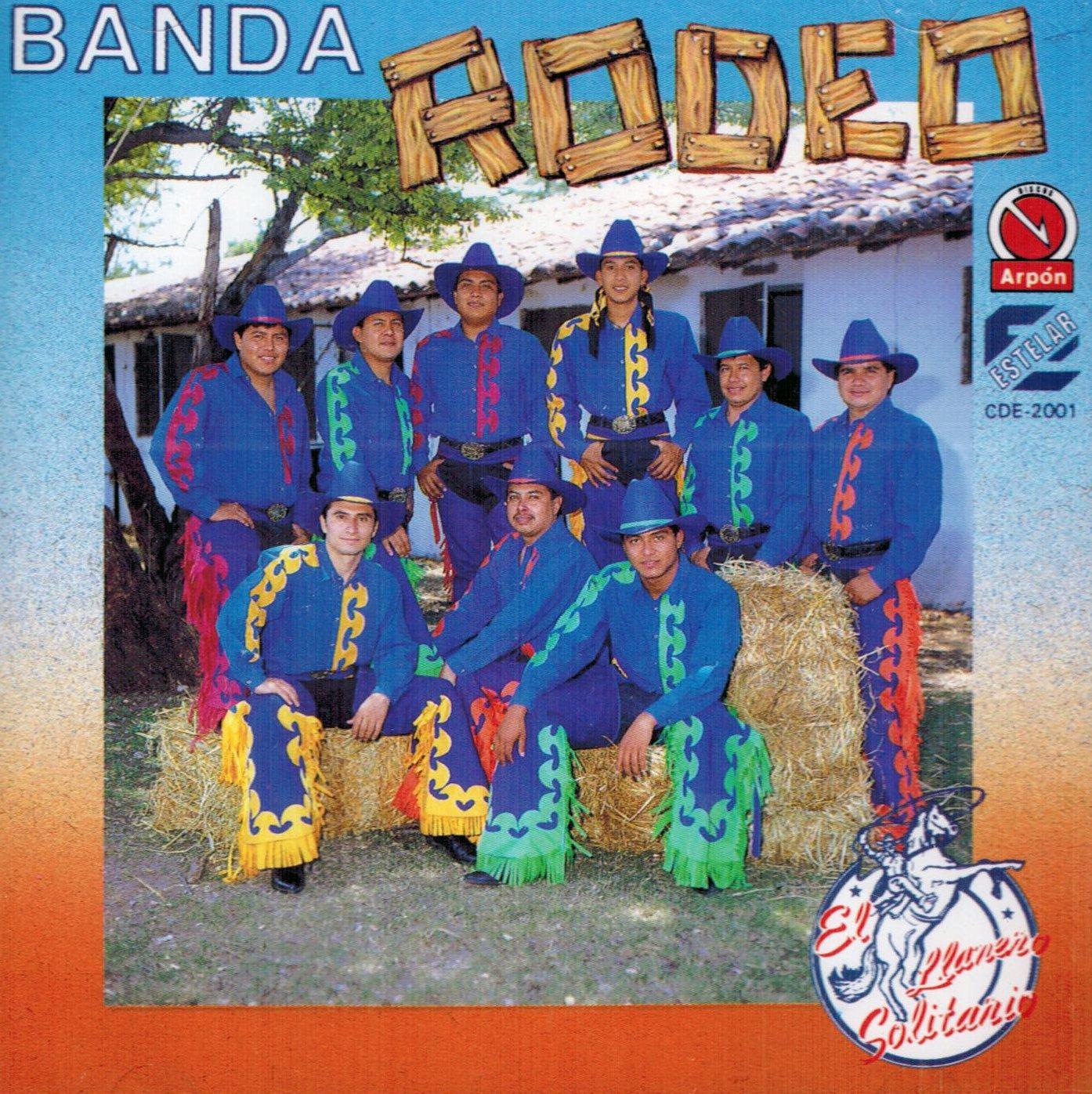 Banda Rodeo De Ranking TOP8 Morelos El Cde-2001 Llanero Soliatrio Manufacturer regenerated product