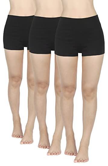 79e6de685887a7 4How Women's Gym Boy Shorts Knickers Stretch Yoga Pants: Amazon.co ...