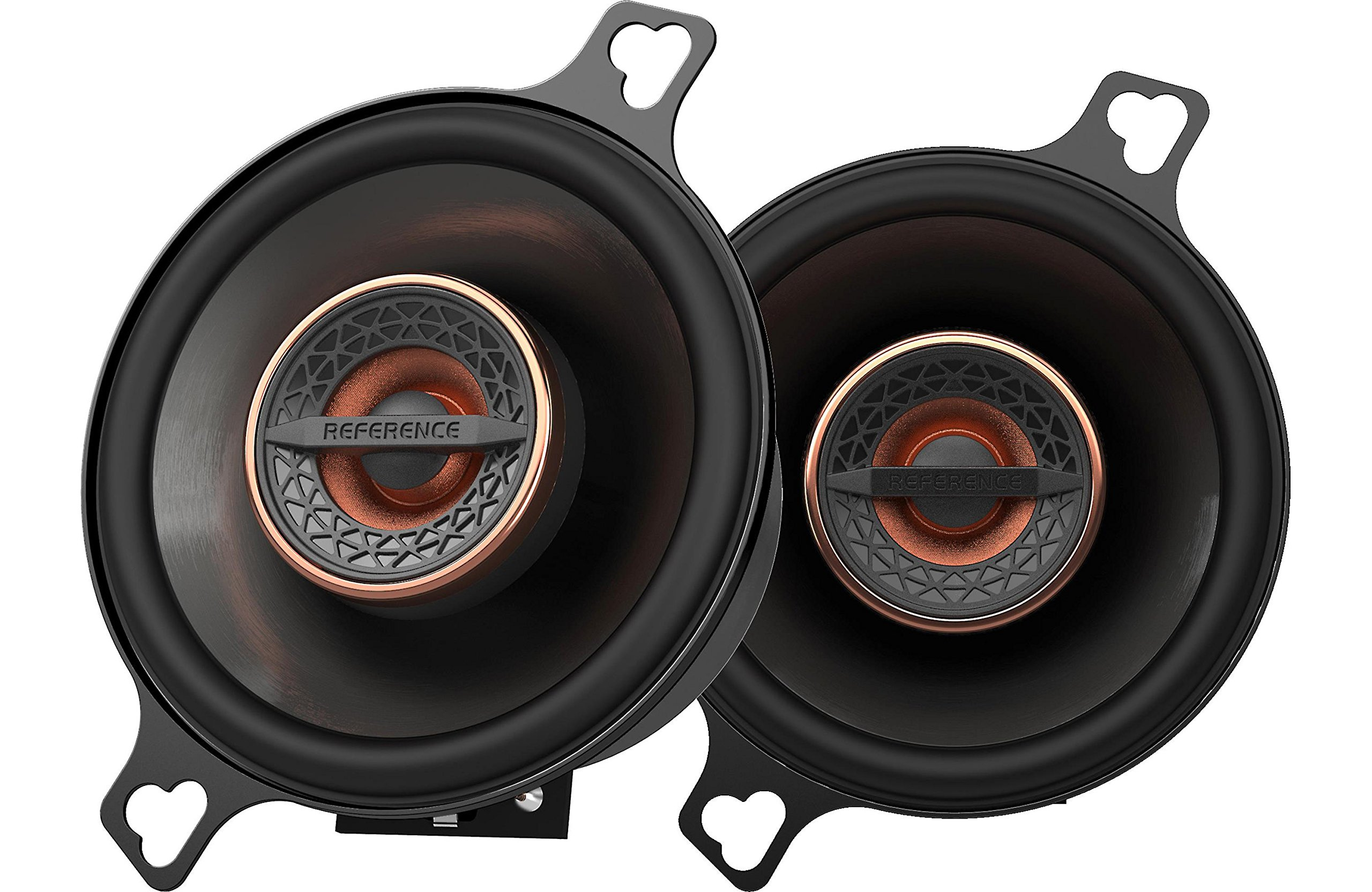 Infinity REF3022CFX 3.5'' 75W Reference Series Coaxial Car Speakers With Edge-driven Textile Tweeter, Pair