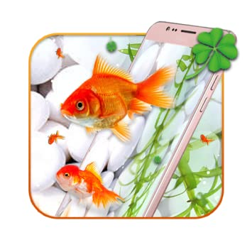 Amazon Com Gold Koi Fish Live Wallpaper Appstore For Android