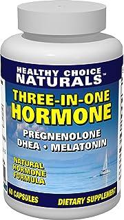 3-in-1 Hormone Supplement-Dhea, Melatonin & Pregnenolone for Optimum Health