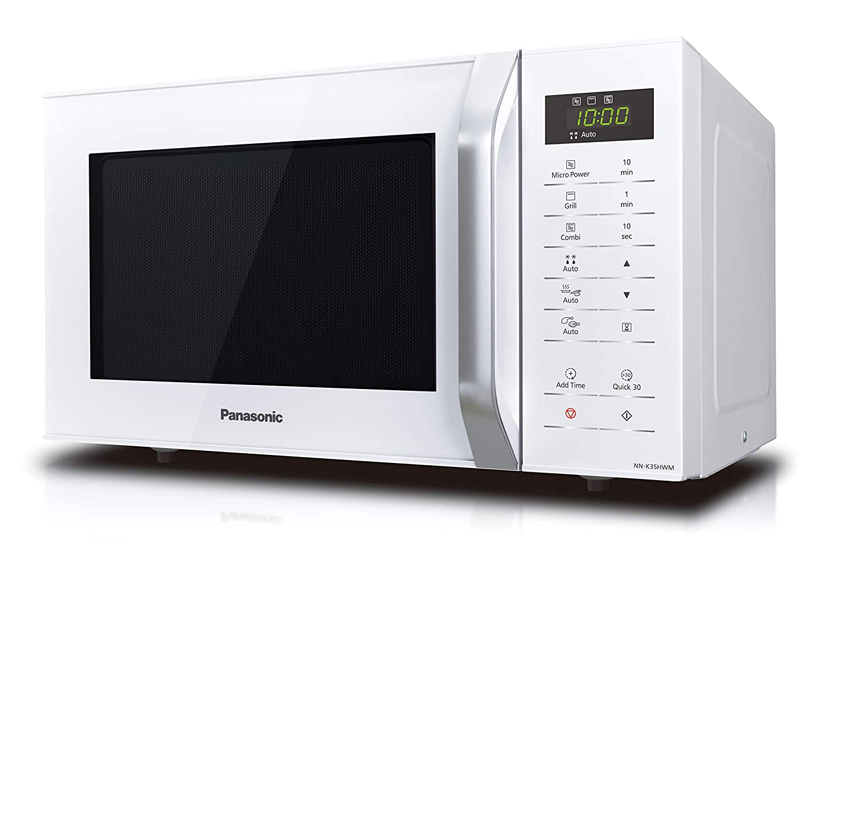 Amazon.com: Panasonic NN-K35HWMBPQ - Microondas con parrilla ...