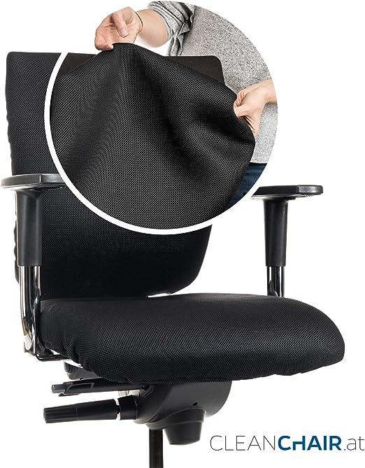 CLEANCHAIR PREMIUM Bürostuhl Überzug Sitzfläche Husse Cover Abdeckung Bezug
