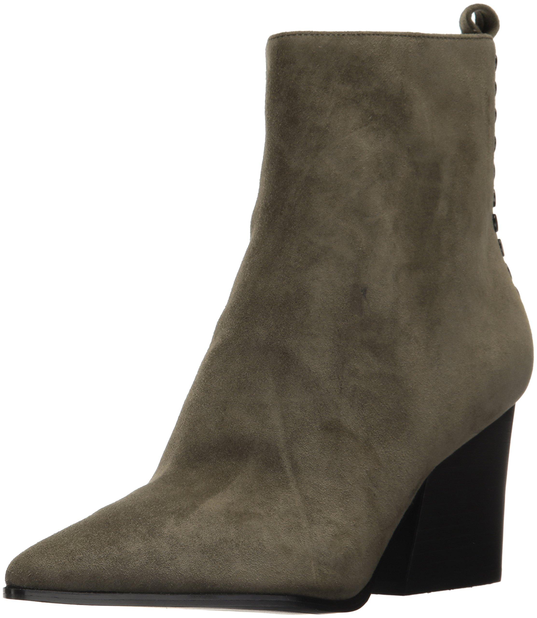 KENDALL + KYLIE Women's Felix Ankle Boot, Khaki Green, 8 Medium US