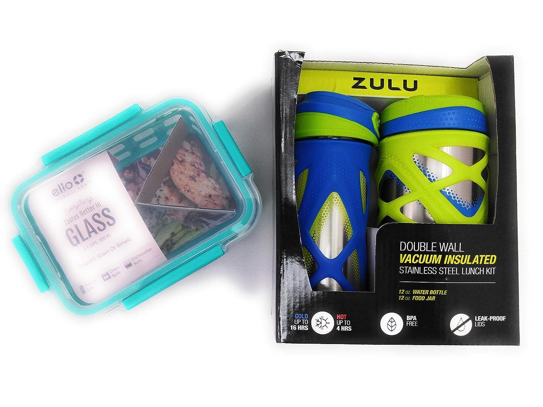 Zulu Botella de agua aislada y tarro de alimentos y Contenedor de ...