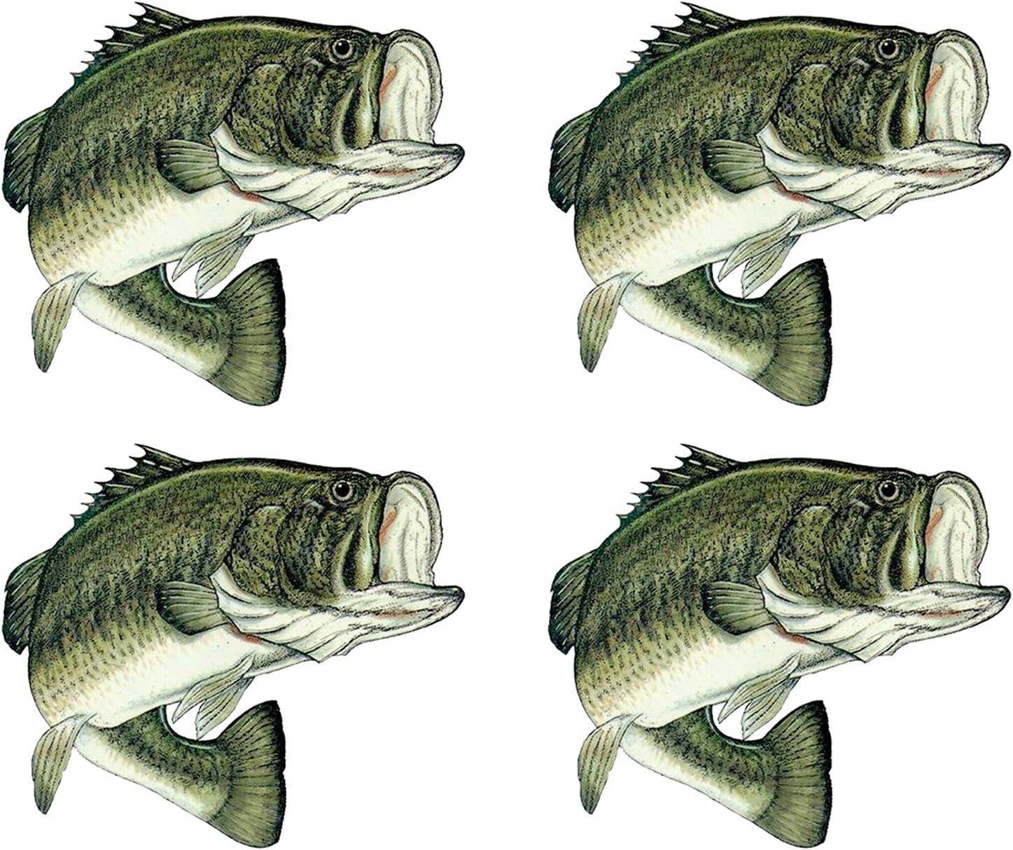 FISHING LURE Vinyl Decal Sticker Car Window Wall Bumper Boat Bass Gone Fish Reel