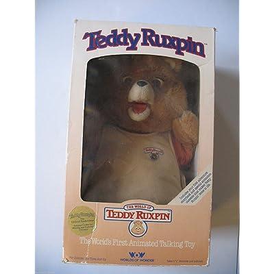Teddy Ruxpin Worlds Of Wonder Talking Story Bear: Toys & Games
