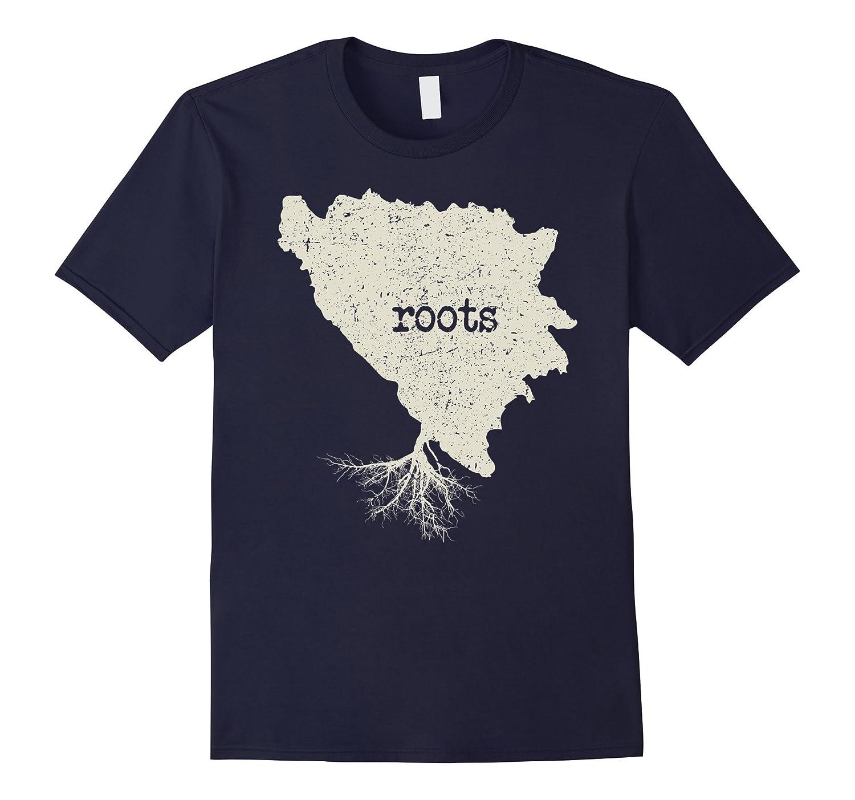 Bosnia And Herzegovina Roots Shirt: Love Native Born State-Art