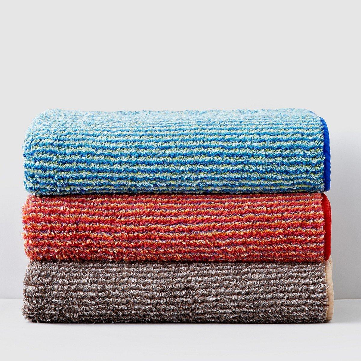 Abismo Cocoon - Toalla de baño, azul multi, 28 in X 54 in: Amazon.es: Hogar