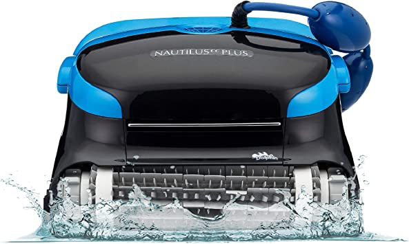 Dolphin Nautilus Cc Plus Robotic Pool Vacuum Cleaner Ideal For In Ground Swimming Pools Up To 50 Feet Powerful Suction To Pick Up Small Debris Easy To