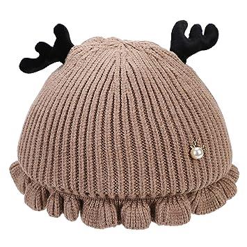 Strickmütze Bulls Design hält warm ideal für den Winter für Herren und Kids grau
