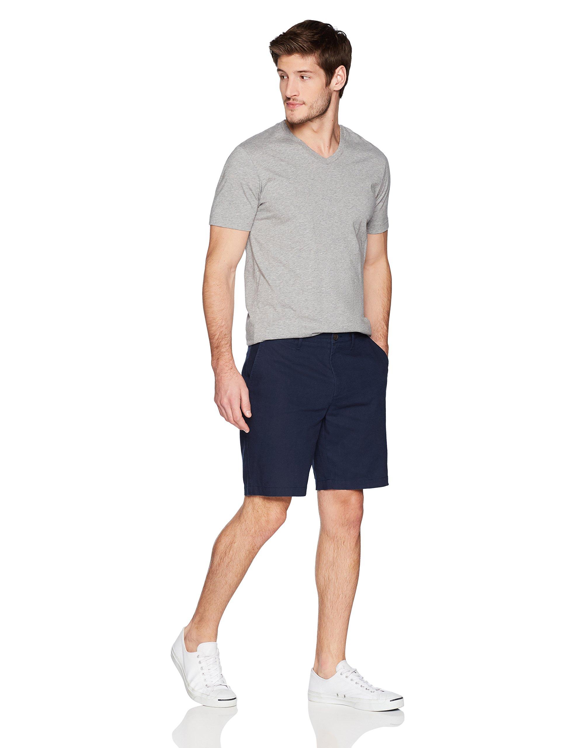 Goodthreads Men's 9'' Inseam Linen Cotton Short, Navy, 34 by Goodthreads (Image #3)