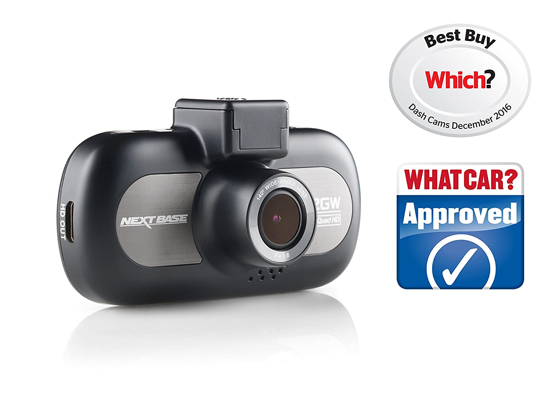 Nextbase 412gw 1440p quad hd in car dash camera digital driving video recorder with wi fi black amazon co uk electronics