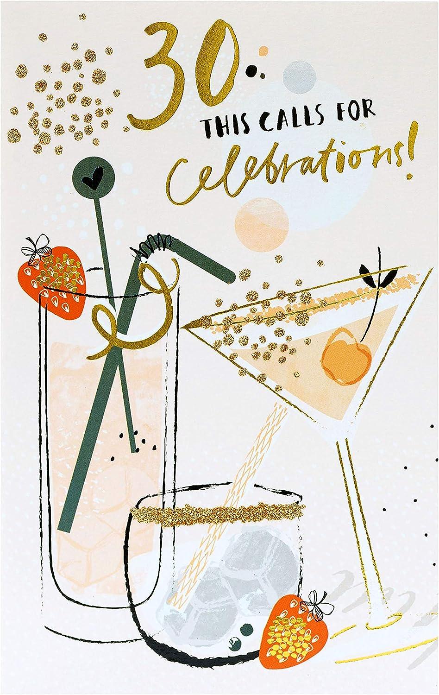 30th Birthday Card Birthday Card Age 30 30th Birthday Card For Her Birthday Cards For Women Birthday Gifts For Her 30th Birthday Gifts Gift Card For Her