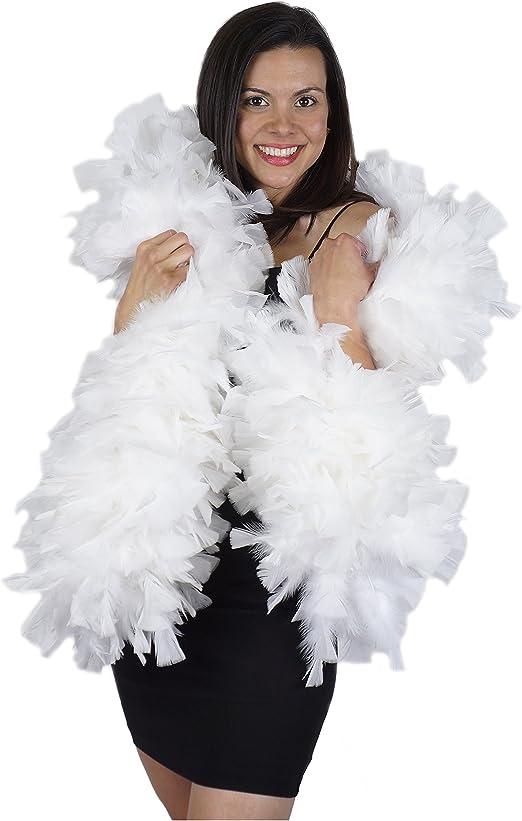 California Costumes 72 White Feathered Boa Costume Accessory