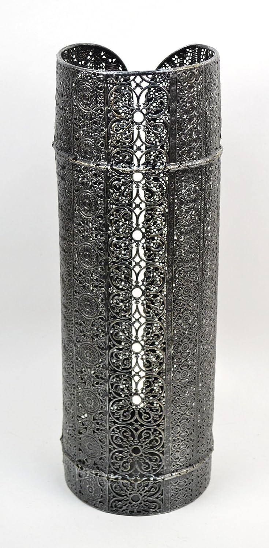 Concepts Split Lace Metal Umbrella Stand Rack 21'' (Black)