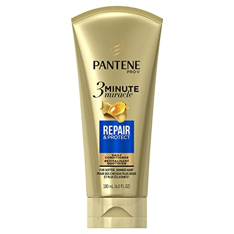 Amazon Com Pantene Repair And Protect 3 Minute Miracle Deep Conditioner 6 Fluid Ounce Beauty