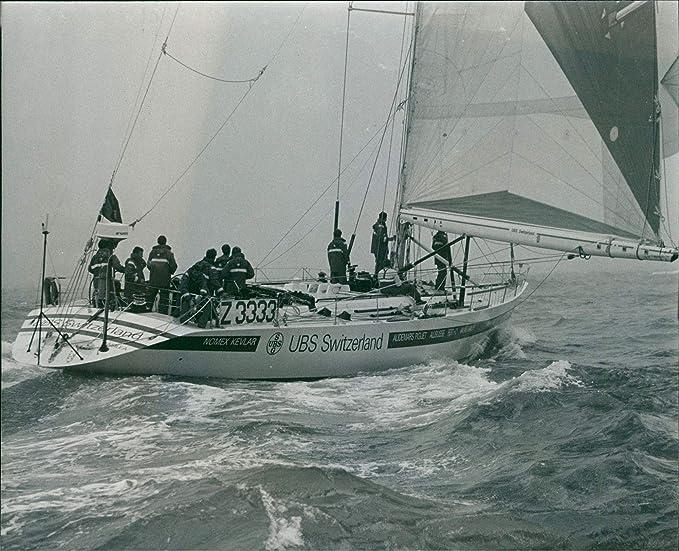 Amazon com: Vintage photo of UBS Switzerland Yacht