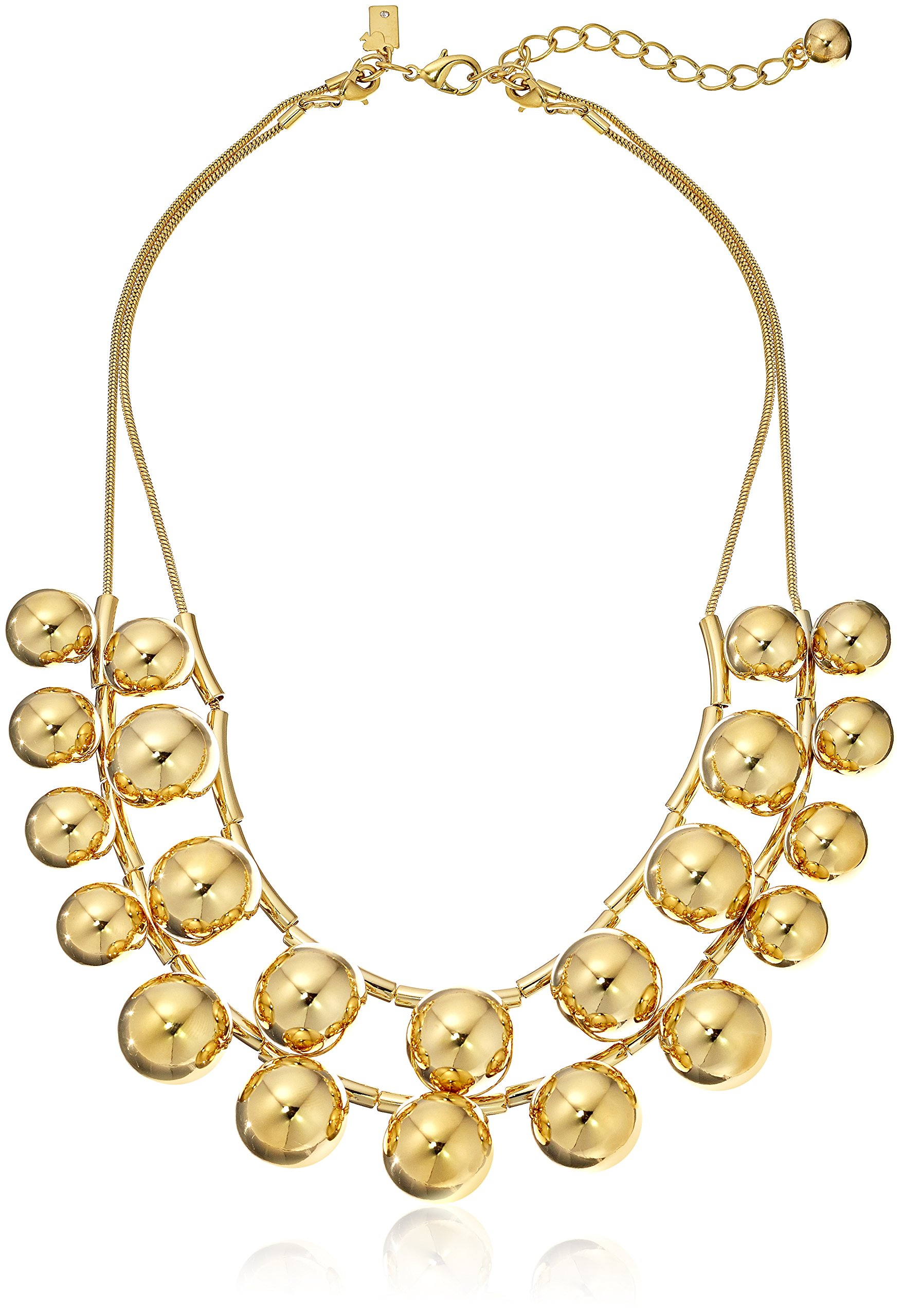 kate spade new york Gold-Tone Double Strand Necklace