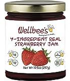 Wellbee's Real Strawberry Jam - Sugar Free & Preservative Free