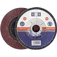 Discos SBS solapa 115mm/Grano 120), color marrón