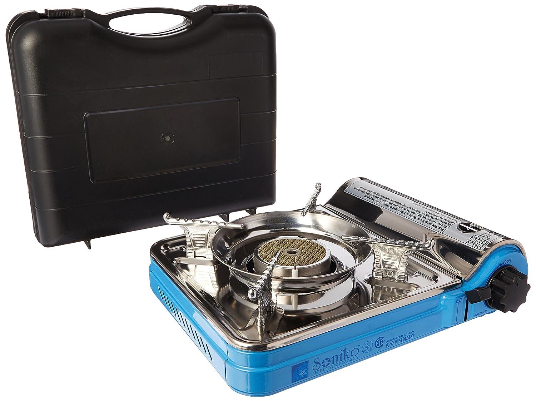 Amazon.com : Deluxe Portable Gas Butane Stove with Free Case ...