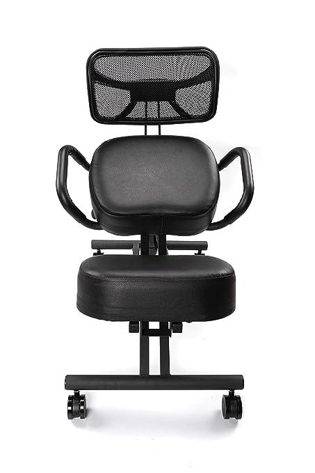 Amazoncom Chair Monk Ergonomic Kneeling Chair Kneeling Chair