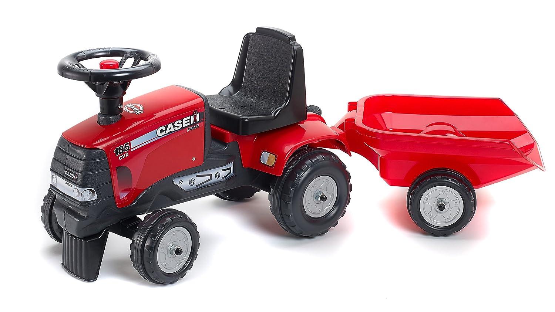 Falk 938B Case IH - Tractor con remolque, color rojo: Amazon.es: Juguetes y juegos