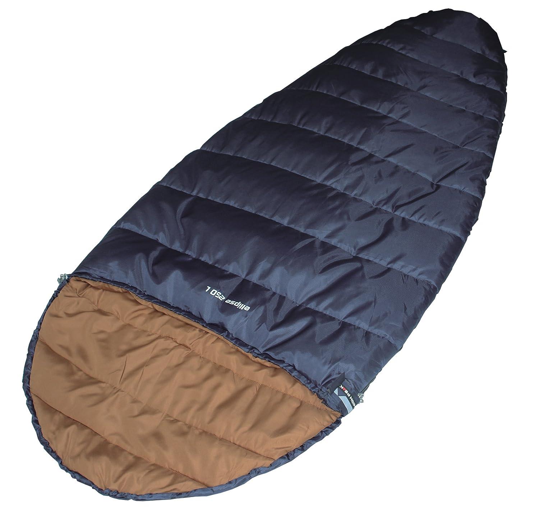 High Peak Mumienschlafsack Ellipse 250 - Saco de dormir momia para acampada, color azul, talla L: Amazon.es: Deportes y aire libre
