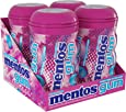 Mentos Sugar-Free Chewing Gum with Xylitol, Bubble Fresh Cotton Candy, 45 Piece Bottle (Bulk Pack of 4)