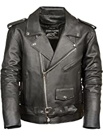 a61dc6976 Mens Leather & Faux Leather Jackets & Coats | Amazon.ca