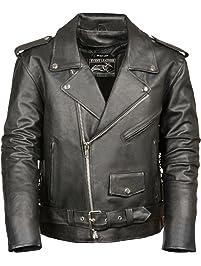 a2e8edd6b Mens Leather & Faux Leather Jackets & Coats | Amazon.ca