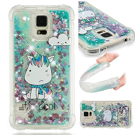 Linvei Funda Samsung Galaxy S5/S5 Neo I9600 Carcasa 3D ...