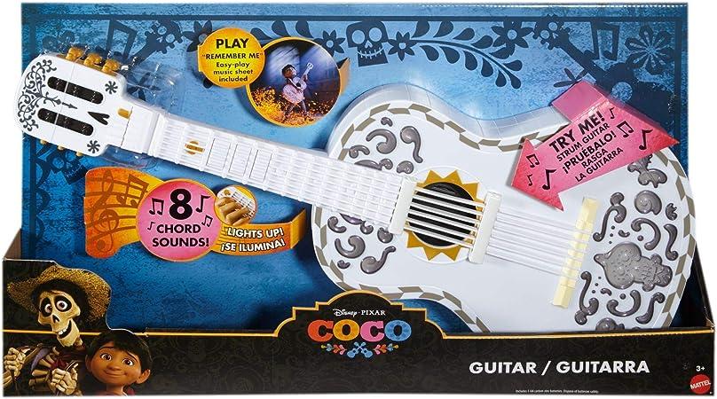 Disney Coco Guitarra Interactiva Juguete Infantil FMB20: Amazon.es: Juguetes y juegos
