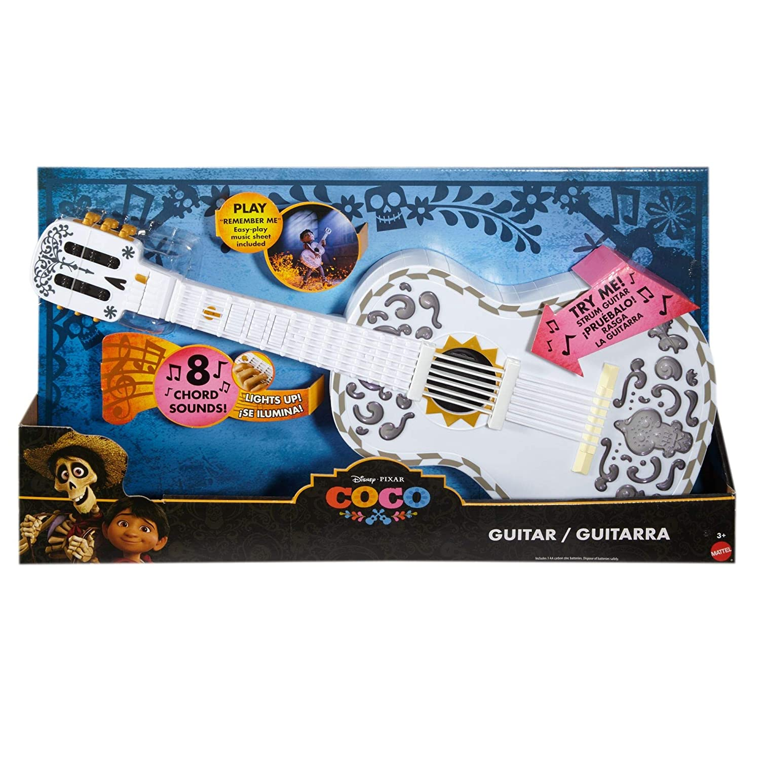 Amazon Coco Interactive Guitar By Mattel Toys Games