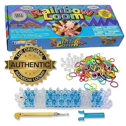 0a595fe60258 Rainbow Loom Kit para Hacer Pulseras y Accesorios