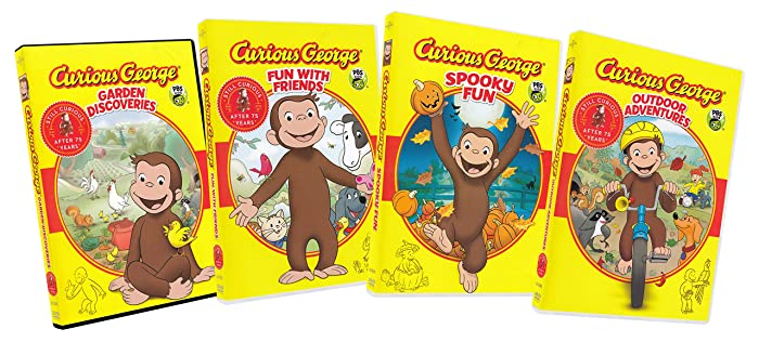 Top 6 Curious George Garden Discoveries