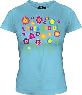 Candymix - Camiseta ajustada para mujer, diseño con texto en inglés