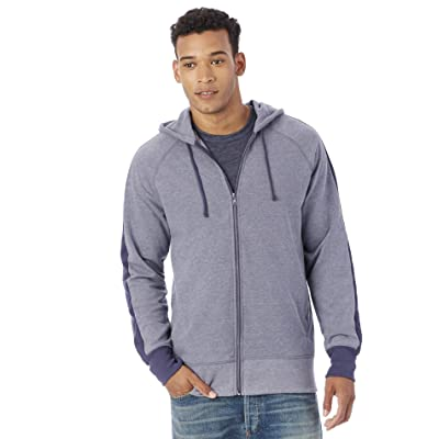 Alternative Men's Vintage Sport French Terry Stripe Franchise Hoodie at Amazon Men's Clothing store