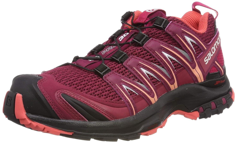 Salomon XA Pro 3D W, Hausschuhe de Trail Running para damen rot (Beet rot schwarz Beet rot Cerise schwarz)