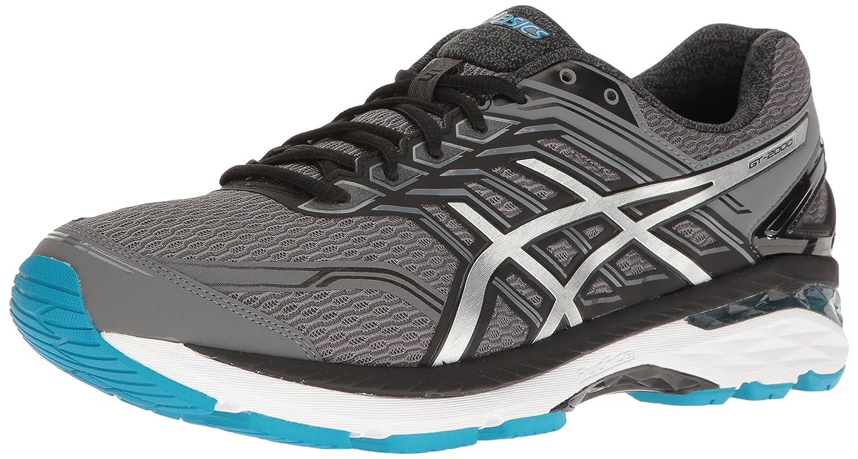 ASICS Men's GT-2000 5 (2E) Running Shoe B01G6B6SQQ 6.5 2E US|Carbon/Silver/Island Blue