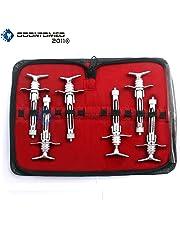 OdontoMed2011 New O.R Grade Set of 6 Piece ASPIRATING Syringe 1.8CC Dentist Dental Instruments ODM
