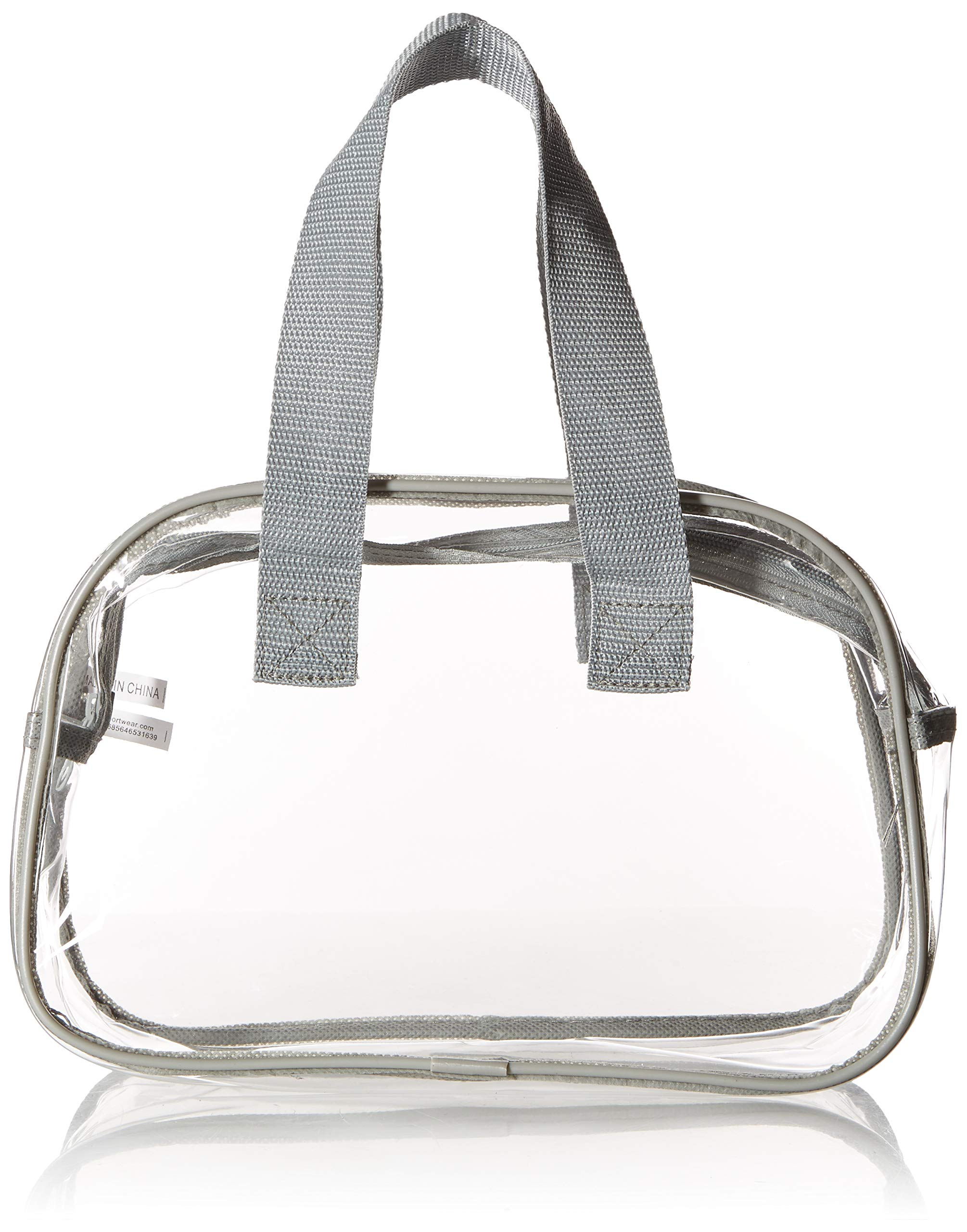 0611a9d8cb17 Nova Sport Wear Clear Purse That is Event Stadium Approved. Clear Handbags  for Cosmetics,