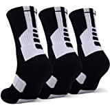 JHM Thick Protective Sport Cushion Elite Basketball Compression Athletic Socks …