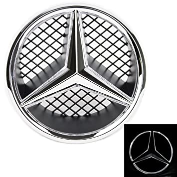 Amazon Jetstyle Led Emblem For Mercedes Benz 2005 2013 Front